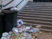 شكوى من انتشار القمامة بحدائق الأهرام بالجيزة