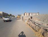 """""""سيبها علينا"""".. قارئ يطالب بإعادة رصف شارع أحمد سعيد فى رمسيس"""