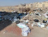 شكوى من انتشار القمامة بالبوابة الرابعة بحدائق الأهرام
