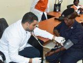 الصحة تعلن فحص 14838 مواطنًا أفريقيًا فى دولتى تشاد وجنوب السودان
