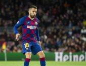 ألبا يعود إلى برشلونة ضد ريال مدريد فى الكلاسيكو