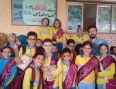 صور .. تنفيذ مسابقة حفظ القرآن الكريم بـ 100 مدرسة حكومية فى بنها