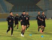 صور .. المنتخب الأولمبى يواصل الإعداد لمواجهة مالي .. وغريب متفائل بالفوز