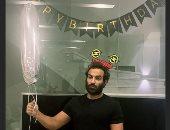"""هنا الزاهد تحتفل بعيد ميلاد زوجها أحمد فهمى: """"كل سنة وأنت بطلى الخارق"""""""