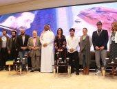 هبة مجدى تشارك متابعيها بصور من مؤتمر مسرحية الملك لير بموسم الرياض