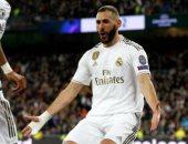 إيبار ضد ريال مدريد.. هازارد وبنزيما يقودان هجوم الملكي في الدوري الاسباني