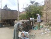 صور.. حملات نظافة وإزالة تعديات بحى شرق والسوق السياحى بالأقصر
