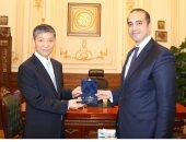 الأمين العام لمجلس النواب يستقبل السفير الصينى بالقاهرة.. صور