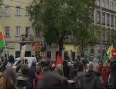مظاهرات حاشدة فى المجر احتجاجًا على زيارة أردوغان لبودابست