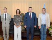 محافظ الإسكندرية يستقبل قنصل عام فرنسا لبحث سبل التعاون المشترك