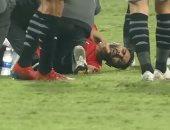 الإشعة تثبت إصابة حسين الشحات بكدمة قوية في مباراة منتخب مصر وليبيريا