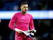 جوارديولا يعلن غياب الحارس ايدرسون عن مانشستر سيتي ضد ليفربول