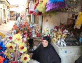 عروسة المولد تزين أسواق الغربية.. والبائعون: إقبال كبير من الشباب (صور)