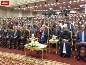 السيسى: جماعات الإرهاب نفوسهم وقلوبهم مريضة ومنهجهم يا نحكمكم يا نقتلكم