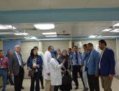 """وفد من """"التأمين الصحى"""" يتفقد مستشفيات الهيئة بالغربية لمتابعة أعمال التطوير"""