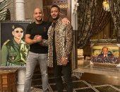 محمد رمضان بصحبة الملاكم المغربى أبو زعيتر: الصداقة بصدق المواقف