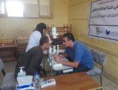 """صور.. قافلة طبية بمدينة إسنا لمكافحة مسببات العمى ضمن مبادرة """"عينيك فى عنينا"""""""