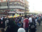 صور.. موكب حاشد للاحتفال بالمولد النبوى الشريف فى بورسعيد