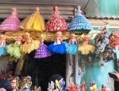 اجواء احتفالية تسيطر على محلات بيع الحلوى بمناسبة المولد النبوي الشريف