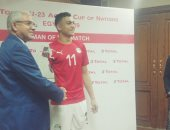 مصطفى محمد: حققنا الفوز على منافس قوى و القادم أفضل