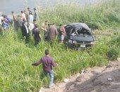 إصابة شخصين فى انقلاب سيارة ملاكى بأسيوط