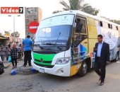 فيديو.. تعرف على سر السيارة الخضراء التى يلتف حولها الأطفال بميادين مصر