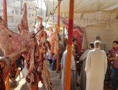 """""""إرضاء المستهلك"""" مبادرة لتوفير اللحوم بأسعار مخفضة بمدن كفر الشيخ"""
