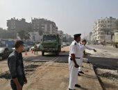 غلق جزئى لشارع الأهرام لمدة يومين من الساعة 12 صباحا حتى 5 صباحا