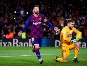 كل أهداف السبت.. إبداع ميسي مع برشلونة ورباعية ريال مدريد