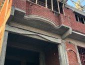 إيقاف إنشاء 5 عقارات مخالفة والتحفظ على مواد البناء بحى شرق الإسكندرية
