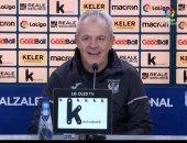 أجيري يكشف سر تعادل ليجانيس مع ريال سوسيداد بالدوري الاسباني
