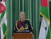 عاهل الأردن يغادر عمان فى جولة عمل أوروبية