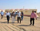 إسكان الوادي الجديد   استكمال تنفيذ مشروع إقامة 3 قرى نموذجية بالخارجة