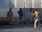 القوات العراقية تطلق الغاز المسيل للدموع وإصابة 22 فى بغداد