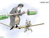 كاريكاتير الصحف الإماراتية.. تخصيب إيران لليورانيوم يقضى على الاتفاق النووى