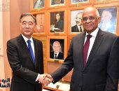 على عبد العال يستقبل رئيس لجنة المؤتمر الاستشارى السياسى للشعب الصيني