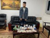 سقوط عامل بصيدلية سرق أدوية ومكملات غذائية بـ50 ألف جنيه فى النزهة