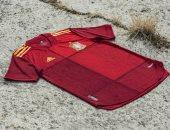 شاهد.. قميص منتخب إسبانيا فى أمم أوروبا 2020