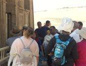 صور .. وفد أرجنتينى يزور منطقتى آثار تل العمارنة وتونا الجبل بالمنيا