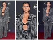 ملابس كورتنى كاردشيان فى حفل People's Choice Awards بـ 11270 جنيه استرلينى