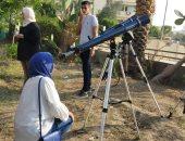 معهد الفلك يفتح أبوابه للمواطنين لمتابعة عبور عطارد لقرص الشمس بأحدث تليسكوب