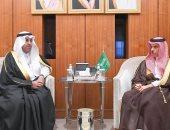وزير الخارجية السعودى يستقبل رئيس البرلمان العربى