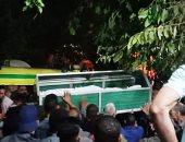 """تشييع جثامين """"خفراء كفر الحصافة"""" فى جنازة شعبية.. فيديو وصور"""