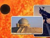 ترقبوا خلال ساعات معدودة.. عطارد فى عبور نادر لقرص الشمس يرى بمصر ومعظم أنحاء العالم.. الكوكب يبدو كنقطة سوداء تتحرك ببطء داخل الشمس.. الظاهرة تستغرق 5 ساعات ونصف تقريباً.. معهد الفلك يرصدها بالتليسكوبات ويحذر