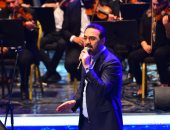 وائل جسار يتألق في حفل رأس السنة بمدينة نصر