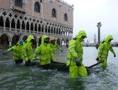 إعلان حالة الطوارئ فى مدينة البندقية الإيطالية بسبب الفيضانات