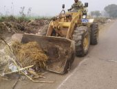 استجابة لصحافة المواطن.. رفع القمامة من الشوارع قرية أنشاص البصل