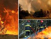 """سلطات كاليفورنيا تبحث عن 5 مفقودين جراء حريق """"ديكسى"""""""