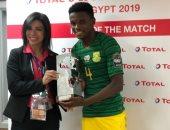 تيبوهو موكوينا أفضل لاعب فى مباراة كوت ديفوار وجنوب أفريقيا