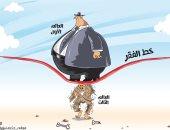 كاريكاتير الصحف السعودية.. دول العالم الأول تزيد من فقر العالم الثالث
